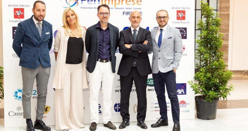 Foto ufficiali FenSpot 2019 presso la Camera di Commercio di Firenze con 600 partecipanti