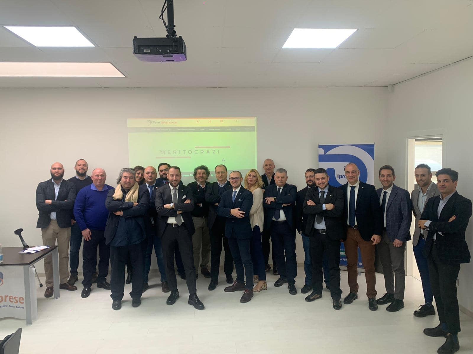 Gionata formativa per alcuni Dirigenti FenImprese presso la sede nazionale dei servizi di Modena