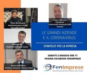 Grande successo per la diretta con  Roberto Re – Peak performance coach – ▪️Paolo Galimberti – Direttore Generale Festina Italia ▪️Paolo Bevilacqua – Amministratore Unico Tecnoacciai