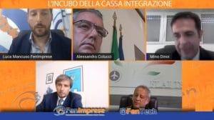 DIRETTA FACEBOOK: L'INCUBO DELLA CASSA INTEGRAZIONE AZIENDE E DIPENDENTI PREOCCUPATI