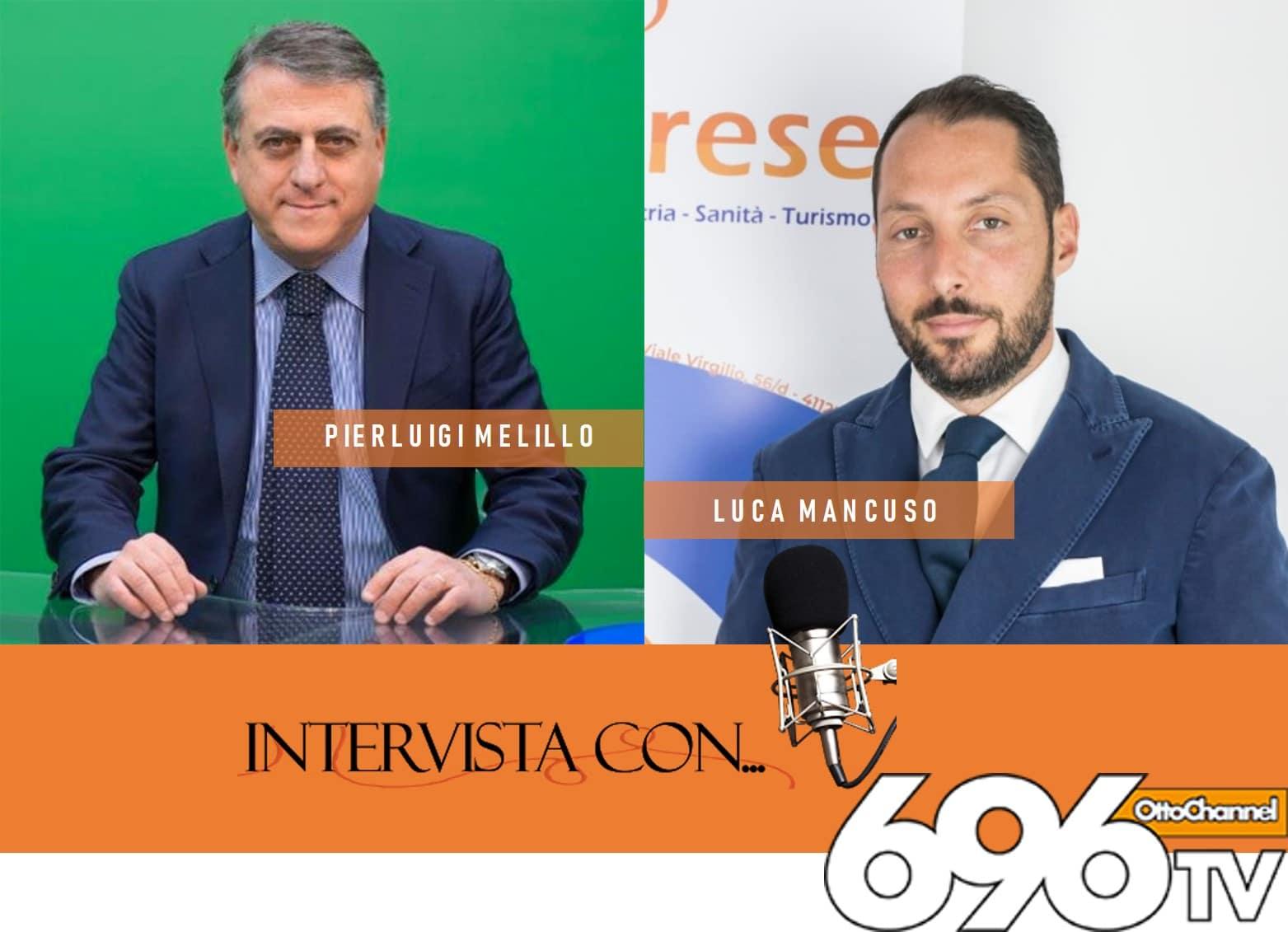 ospiti di OttoChannel nota TV della Campania per parlare della crisi delle nostre povere impresse, con l'esperto e preparato giornalista Pierluigi Melillo.