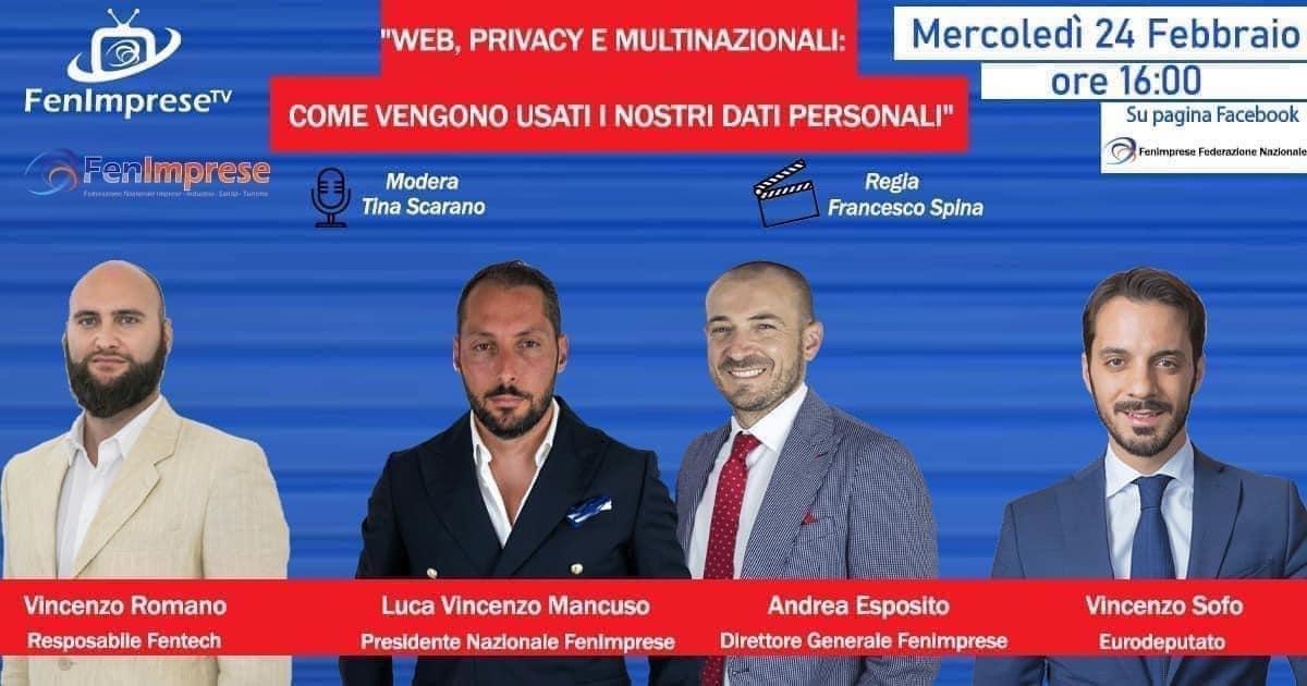 """""""WEB PRIVACY E MULTINAZIONALI COME VENGONO USATI I NOSTRI DATI PERSONALI"""""""