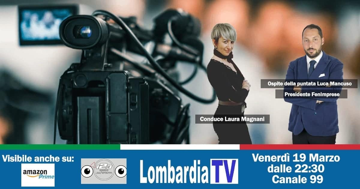 Il Presidente Mancuso ospite su Lobardia TV